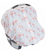 Little Unicorn Cotton Muslin Car Seat Canopy Pink Ladies