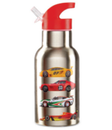 Crocodile Creek ECO Kids Stainless Steel Drinking Race Cars