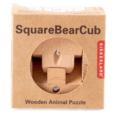 Kikkerland Square Bear Puzzle