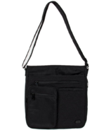 Lug Monorail Convertible Crossbody Bag Midnight Black