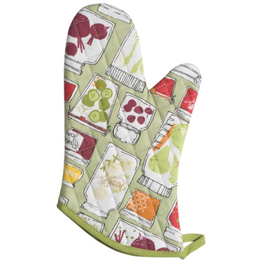 Now Designs Oven Mitt Keep on Canning