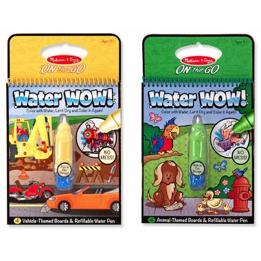 Melissa & Doug Water WOW! Vehicle and Animal