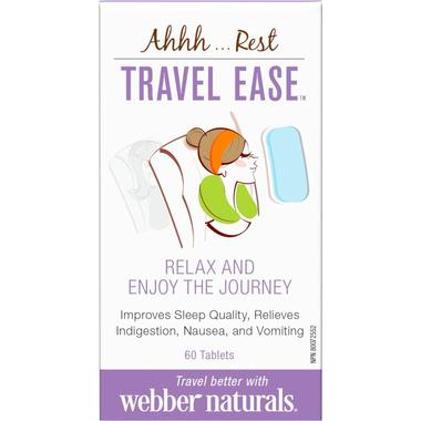 Webber Naturals Travel Ease
