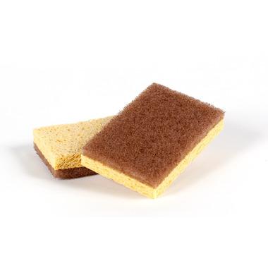 Full Circle Walnut Scrubbing Sponges