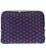 Yumbox Navy Poche with Birds