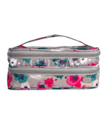 Lug Double Decker Cosmetic Case Water Pearl