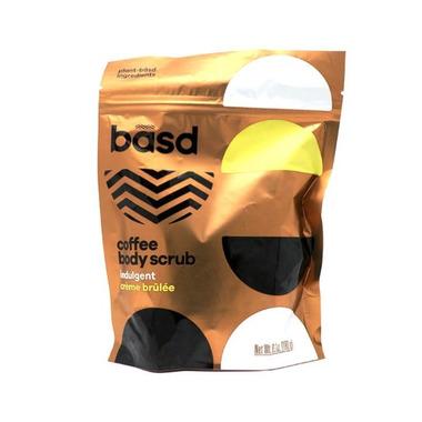 basd Coffee Body Scrub Indulgent Creme Brulee