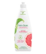 Savon à vaisselle Live Clean Pamplemousse rose