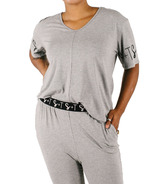Smash + Tess Lily Relaxed T Slay Grey