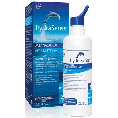 hydraSense Daily Nasal Care Medium Stream Small Bottle