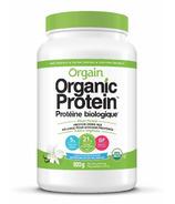 Orgain Organic Plant Protein Vanilla Bean