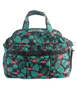 Lug Airbus Weekender Bag Flamingo Black