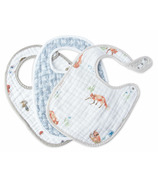 Little Unicorn Cotton Muslin Classic Bib Set Fox