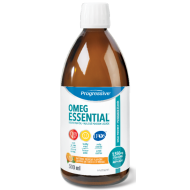 Progressive OmegEssential High Potency Fish Oil Liquid