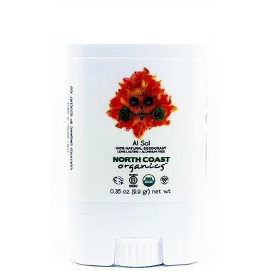 North Coast Organics AL SOL Organic Deodorant Travel Size