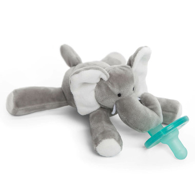 WubbaNub Elephant Plush Pacifier