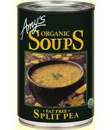 Amy's Soupe aux pois cassés biologique