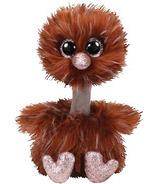 Ty Beanie Boo's Orson the Brown Ostrich Medium