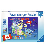 Ravensburger Map of Canada Puzzle