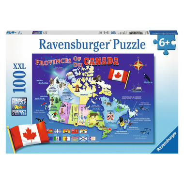 Buy Map Of Canada.Ravensburger Map Of Canada Puzzle