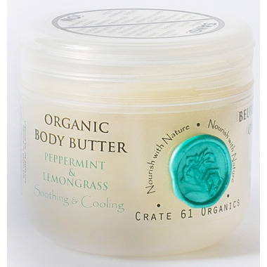 Crate 61 Organics Peppermint Lemongrass Body Butter