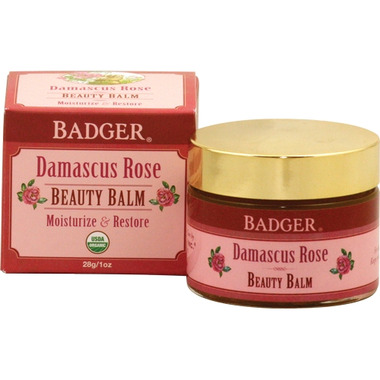 Badger Damascus Rose Beauty Balm