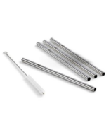 DALCINI Stainless Steel Straw Set