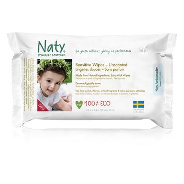 Naty by Nature Babycare Eco Sensitive Wipes