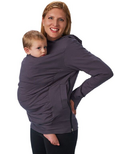 Boba Baby Carrier Cover Hoodie Grey
