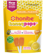 Honibe Honeypops for Kids Lemon