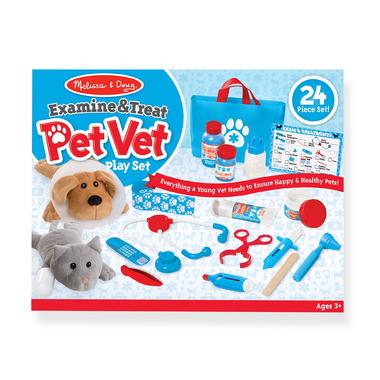 Melissa & Doug Examine and Treat Pet Vet Play Set