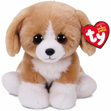 Ty Beanie Babies Franklin the Brown Dog Regular