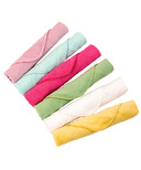 Kushies Single Ply Washcloths Girl Pack