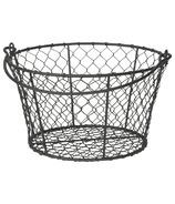 Now Designs Basket Homestead Black