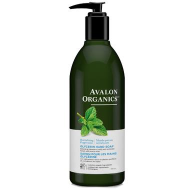 Avalon Organics Peppermint Glycerin Liquid Hand Soap