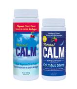 Natural Calm Magnesium Cherry + Wildberry Bundle