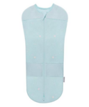 SNOO Organic Cotton Sleepea 5-Second Swaddle Teal with Stars