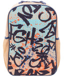 SoYoung Colourful Grafitti Grade School Backpack