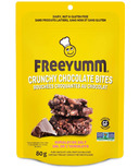 FreeYumm Crunchy Chocolate Bites Himalayan Salt