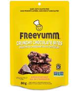 FreeYumm Crunchy Chocolate Bites Himalayan Salt