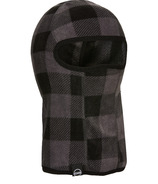 Kombi The Cozy Fleece Balaclava Jr Grey Buffalo Plaid