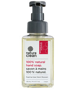 Nature Clean 100% Natural Foaming Hand Soap Geranium