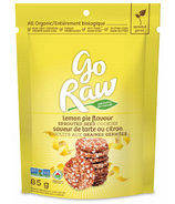 Go Raw Lemon Pie Sprouted Cookies