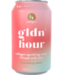 Gldn Hour Collagen Sparkling Water Strawberry Mint