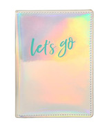 Eccolo Passport Case Iridescent Let's Go