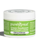 Purelygreat Cream Deodorant for Men Citrus