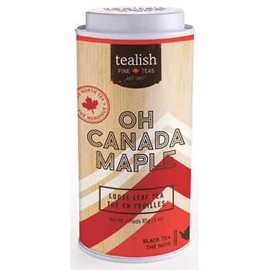 Tealish Oh Canada Maple Whole Leaf Black Tea