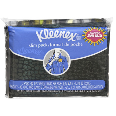 Kleenex Everyday Tissue Slim Pack 3-Pack