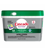 Cascade Platinum ActionPacs Dishwasher Detergent Lemon Scent