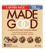 MadeGood granola minis cookies et crème
